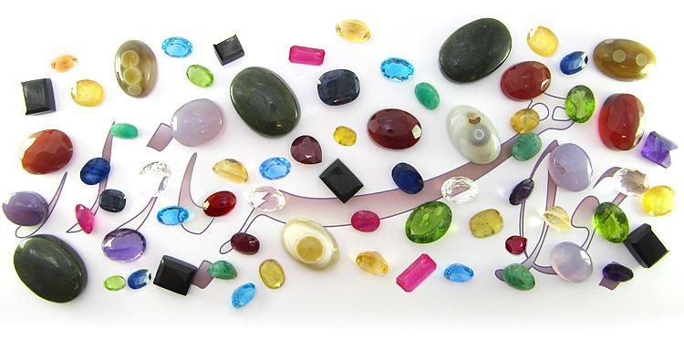 سنگهای قیمتی و جواهربازار